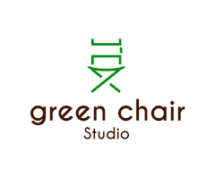 green chair
